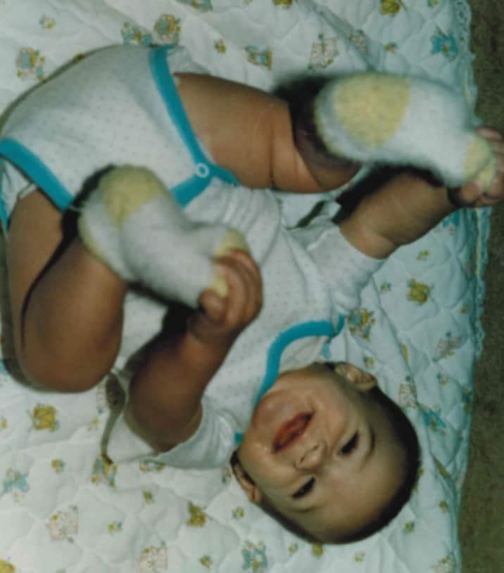 Childhood Photo of Joel Spadafore