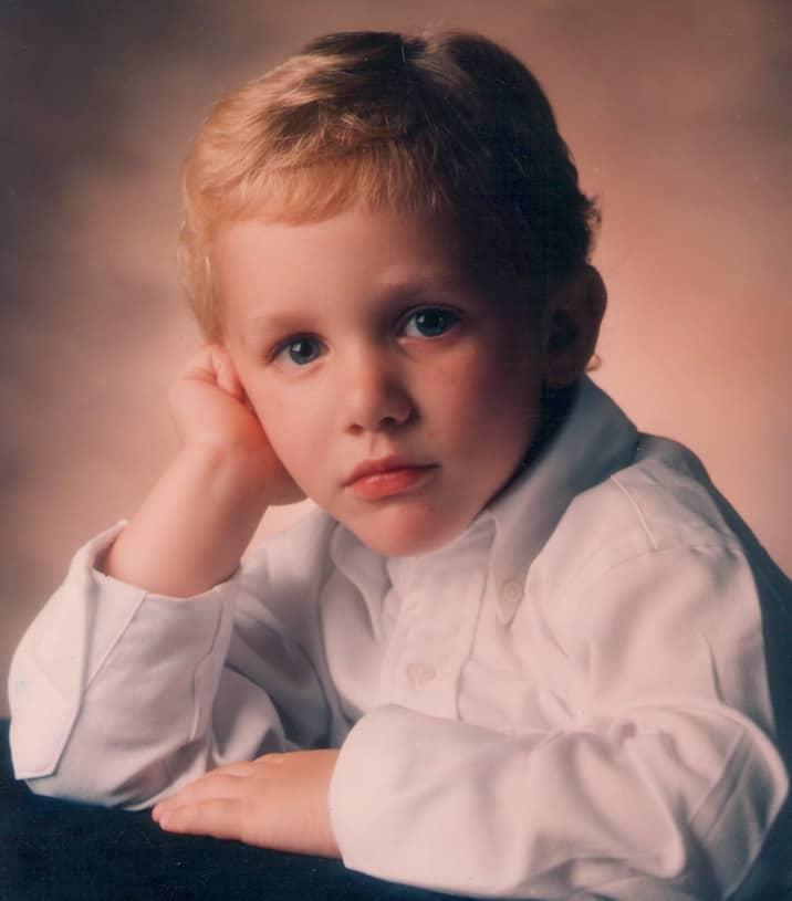 Childhood Photo of Matthew Schaler