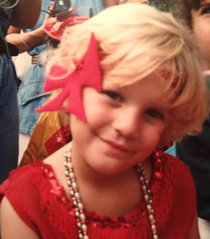 Childhood Photo of Chloe Miranda