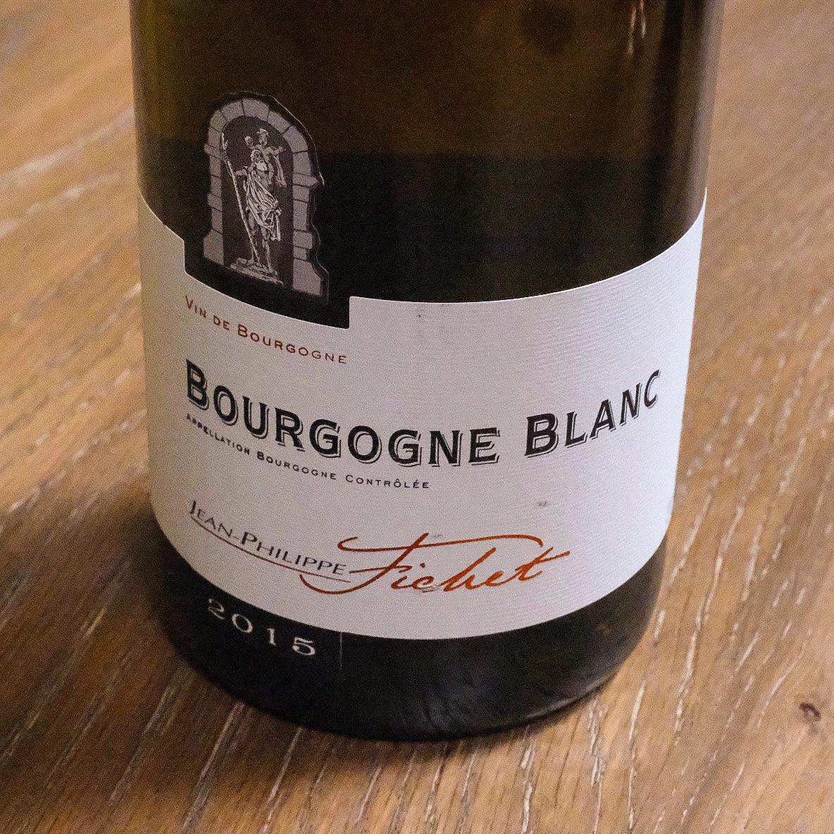 Bottle of White Burgundy - Jean-Philippe Fichet Bourgogne Blanc