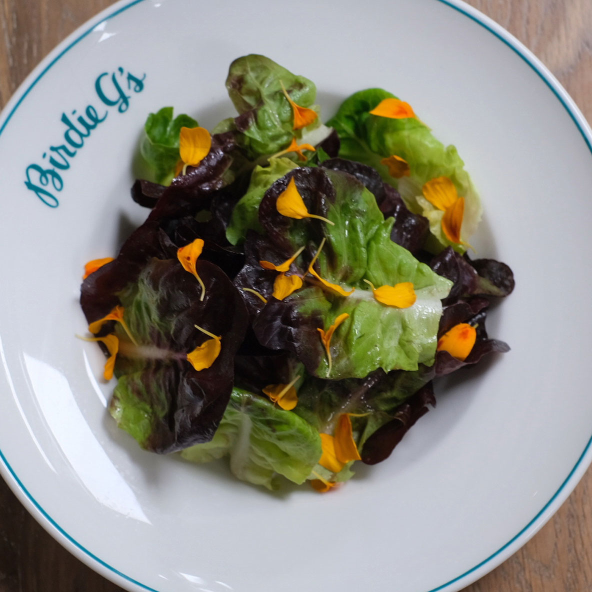 The Healthy Yucky Green Salad