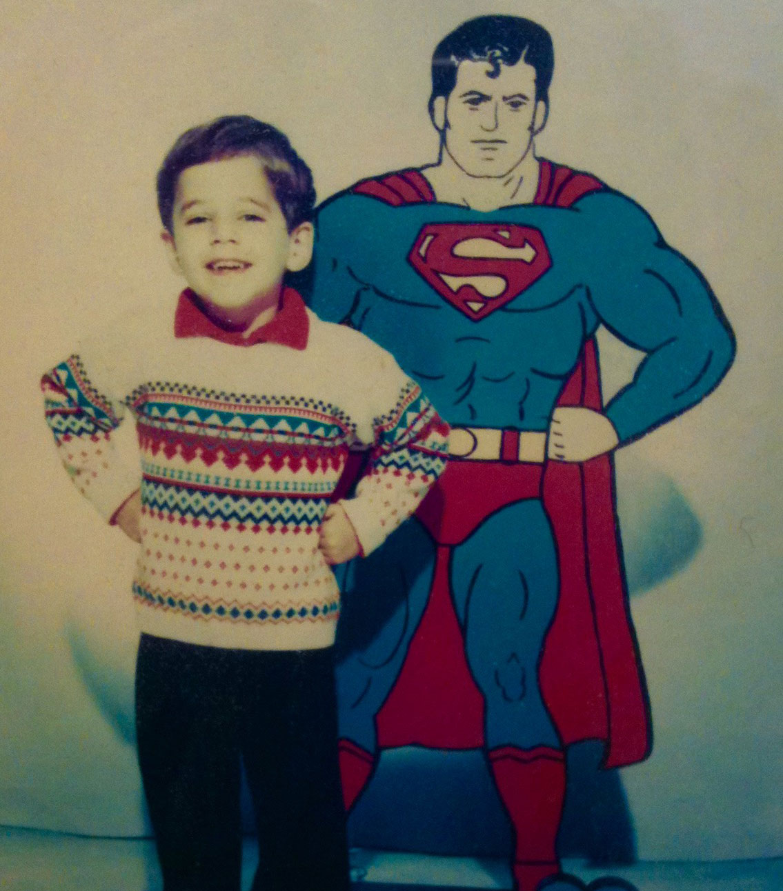 Childhood photo of Brian Jacobs