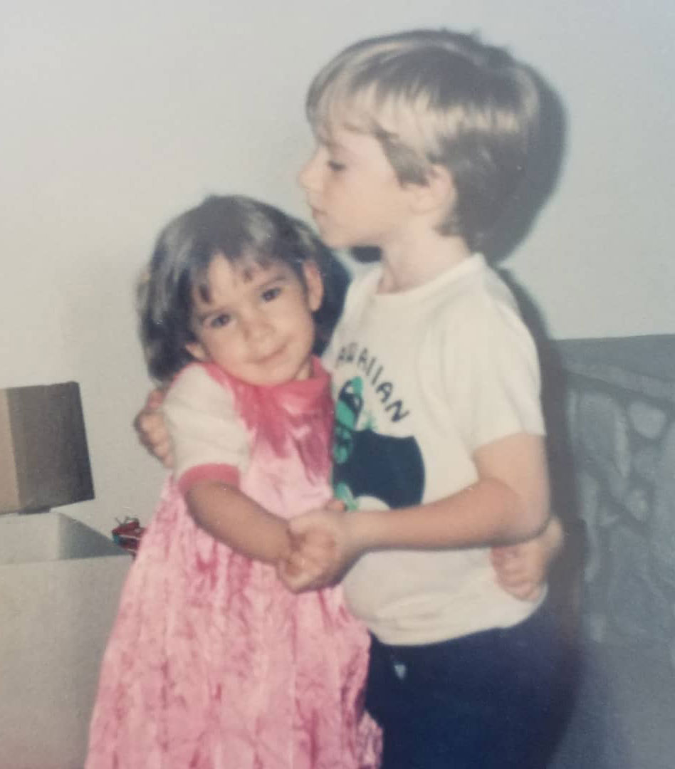 Childhood Photo of Keely Obbards